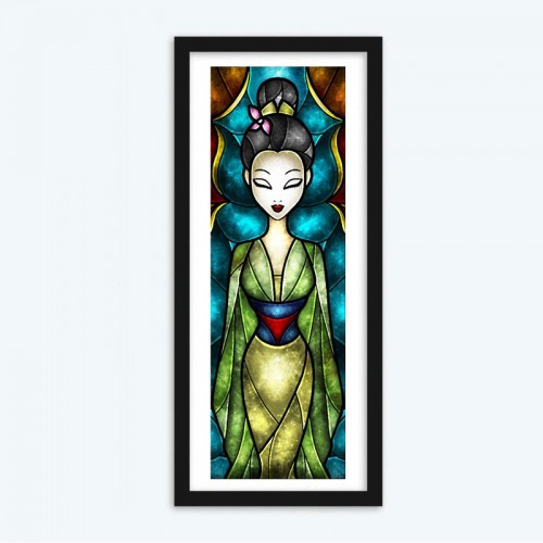 36 X 110 cm - The Daughter of Honor (Hua Mulan)