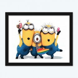 Despicable Me Minions diamond painting kits 101