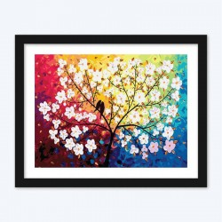Abstract Floral Tree diamond paintings Kit