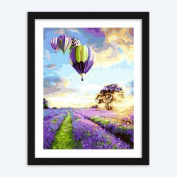 Air Balloon & Meadows diamond paintings Kit