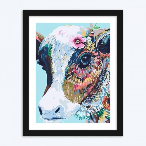 Artistic Cow diamond paintings Kit