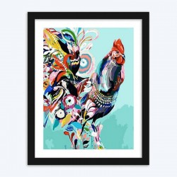 Artistic Rooster diamond paintings Kit