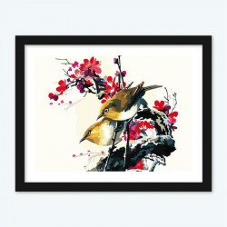 Birds Pair diamond paintings Kit