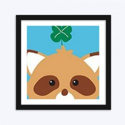 Cartoon Raccoon diamond paintings Kit