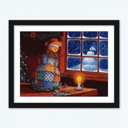 Christmas Night diamond paintings Kit