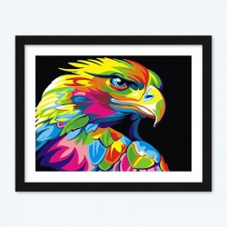 Colorful Eagle diamond paintings Kit
