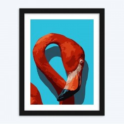 Flamingo Head diamond paintings Kit