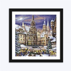 Medieval Christmas Market diamond paintings Kit