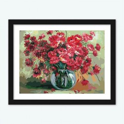 Red Poppies diamond paintings Kit
