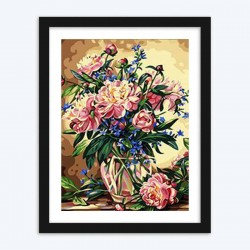 Royal Flowers diamond paintings Kit