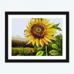 Sunflower Close up diamond paintings Kit