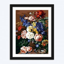 Vase of Garden Roses diamond paintings Kit