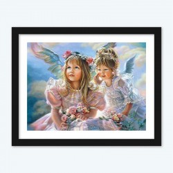 Angel Girls  diamond paintings Diamond Painting DIY