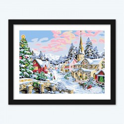 Christmas December DIY Unique Gift Diy Diamond Painting by Numbers