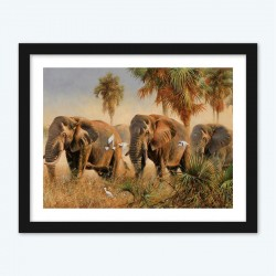 Elephants Diamond Painting diamond paintings for Adults