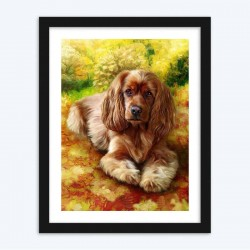 Cute Dog  diamond paintings Kit