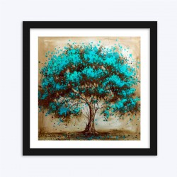 Beautiful Bluish Tree