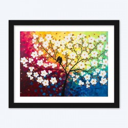 Colorful Blossom Tree