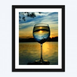 A Glass Of Landscape