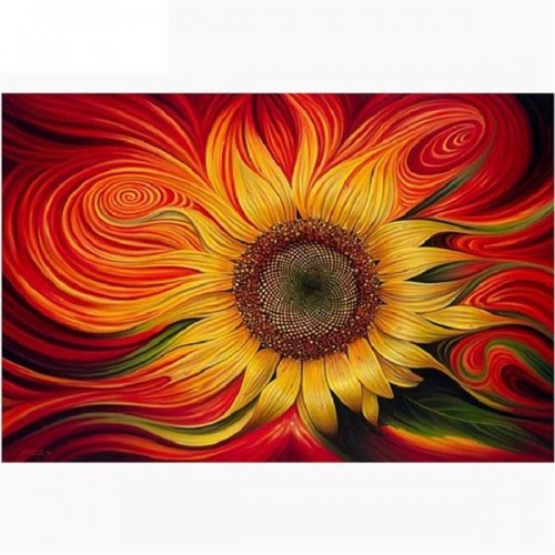 Colorful Sunflower