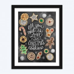 Christmas Cookie and Love