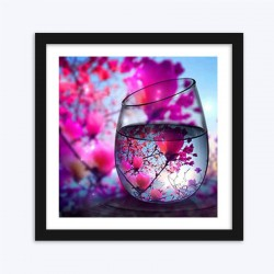 Blooming Tree Glass
