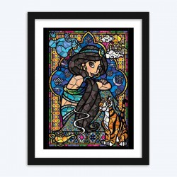 Disney PrincessStained Glass