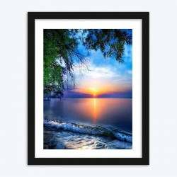 Beautiful  Sunset View Diamond Painting Kit