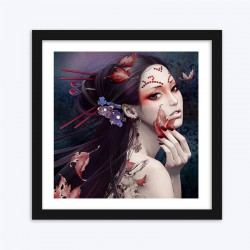 Asian Beauty  Art Kit