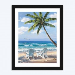 Beach View  Art Kit