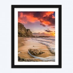 Beach View Sunset Diamond Painting Kit