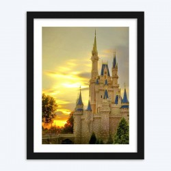 Cinderella's Castle DIY Diamond Painting Kit