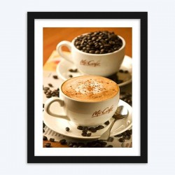 Coffee Beans  Art Kit