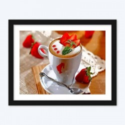Strawberries & Cup of Coffee