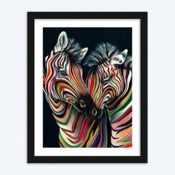 Amazing Zebras DIY Diamond Painting Kit