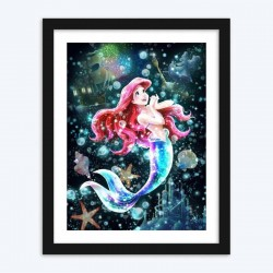 Beautiful Disney Mermaid Diamond Painting Kit