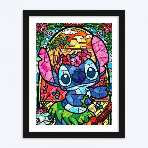 Stained Glass Disney  Art Kit