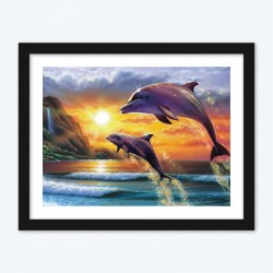 Dolphins  Art Kit