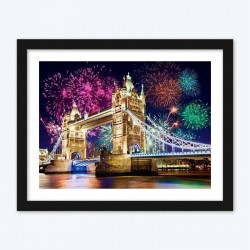 Fire Works DIY Diamond Painting Kit