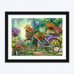 Bicycle & Flowers Shop