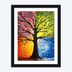 Four Seasons Diamond Painting art Kit