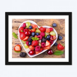 Fresh Fruits in Plates DIY Diamond Painting Kit