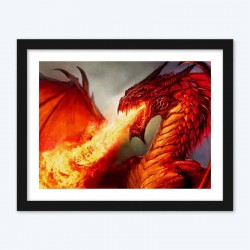 Angry Dragon  Art Kit