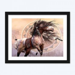 A Warrior's Horse  Art Kit