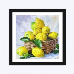 Basket full of LemonsDIY Diamond Painting Kit
