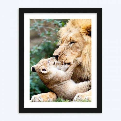 Adorable Lion with Cub  Kit