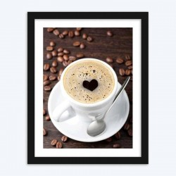 Coffee Beans & Coffee DIY Diamond Painting Kit