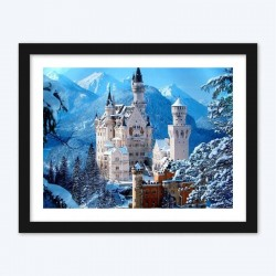 GermanyNeuschwanstein Castle under Snow