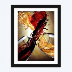 Wine Spilling & Making Heart