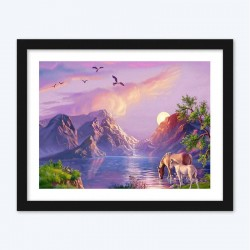 Amazing Mountains Landscape Diamond Painting Kit